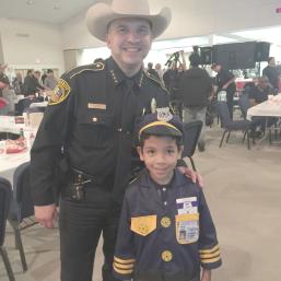 New Sheriff Javier Salazar